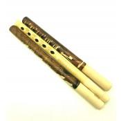 Flauta de madera, 22-26 cm
