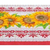"""Mantel  de mesa """"Girasoles"""" lino, 120*150 cm"""