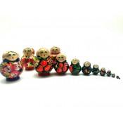 Matrioshka mini, 10 piezas