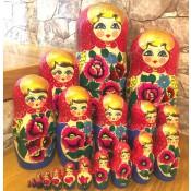 """Matrioska """"Maydan"""", 19 piezas, 40 см"""