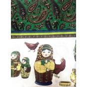 """Mantel de mesa """"Muñecas rusas"""", 150*150 cm"""