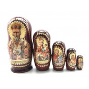 "Martioska ""San Nicolas"",5 piezas 17 cm"