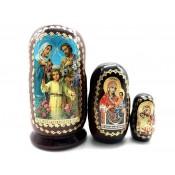 """Matrioshka Religion """"Oración por la familia"""", 3 piezas"""