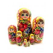 Muñeca rusa de 7 piezas, Verano