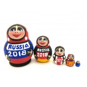 "Matrioska mini ""RUSIA 2018"", 5 cm"