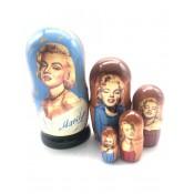"Matrioska ""Marilyn Monroe"", 5 piezas"