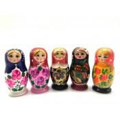 Muñeca rusa 3 piezas, 6 cm