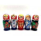 Muñeca rusa 4 piezas, 9 cm