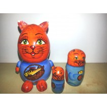 "Matrioska ""Gato"" 8 cm"