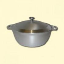 Olla de aluminio 4 l, D-28 см, A-10,5 см