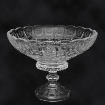 Frutero de cristal, A-19 cm D-25 cm
