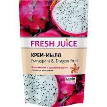 Crema de jabón Frangipani y fruta del dragón, 460 ml