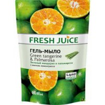 Jabón en gel de mandarina verde y palmarosa, 460 ml