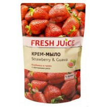 Jabón crema de fresa y guayaba, 460 ml