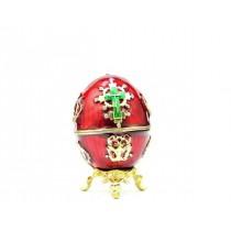 Huevo-joyero Faberge, 9 cm