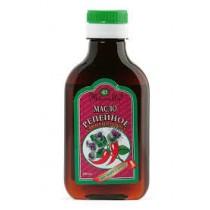 Aceite de bardana con pimienta roja, 100 ml.