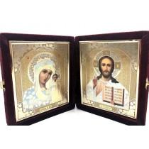 Iconos en terciopelo, 18*21 cm