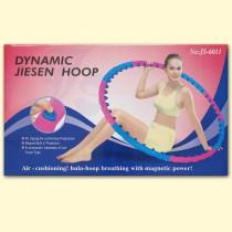 Hula-Hoop con 48 elementos de masaje con imanes, 1,1 kg