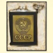 """Petaca """"CCCP"""" en una caja"""