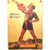 Placas de madera de época Unión Sovietica