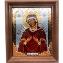 Icono La señora de siete espadas, 20*24 сm