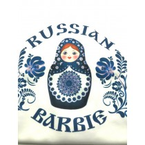 "Camiseta ""Barbi rusa»"
