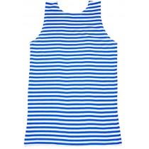 Camiseta marinera, sin mangas