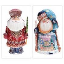 Papa Noel de madera
