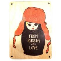 """Imán  placa""""Cheburashka"""""""