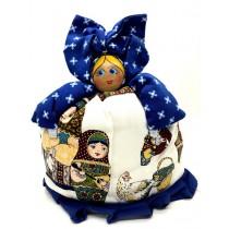 Muñeca para tetera en estilo ruso