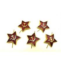 Pin Estrella Roja