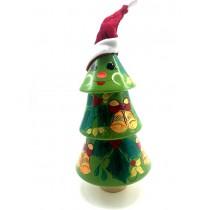 Árbol de navidad musical, 25 cm.