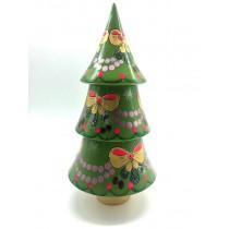 Árbol de navidad, musical 25 cm.