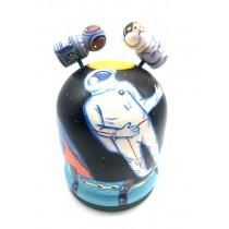 """Matryoshka-bola """"Cosmos"""", 11 cm"""