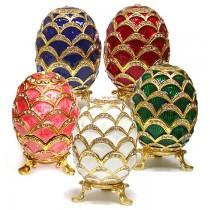 """Huevo """"Faberge"""" , 8 cm"""