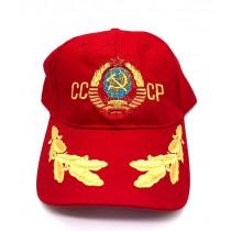 "Gorro ""СССР"" rojo"
