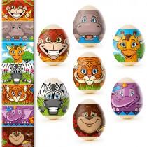 Pegatinas de Pascua Animales