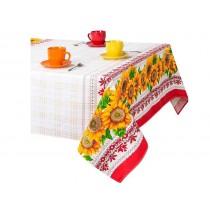 Mantel de lino Girasoles, 150*180 cm