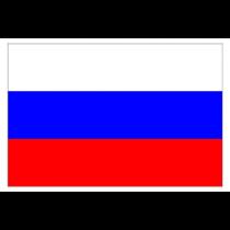 """Bandera """"Rusia"""",  90x150 cm"""