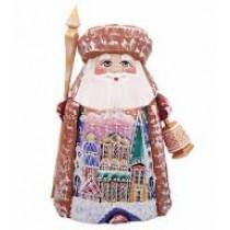 Papa Noel, de madera