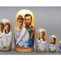 """Matrioska """"Familia Real de Rusia"""" 18 cm"""