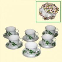 """Juego de té """"Lirios de los valles"""", 12 piezas"""