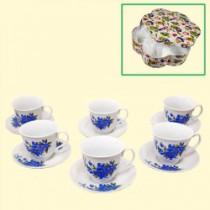 """Set de té """"Nomeolvides"""" 12 piezas"""
