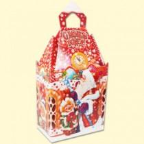 """Складная подарочная упаковка """"Сани Деда Мороза"""""""