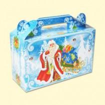 """Складная подарочная упаковка """"Снегурочка"""""""