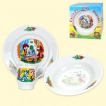 Conjunto de platos para niños