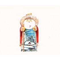 """Papa Noel """"Paisaje de invierno"""", 18 cm"""