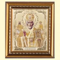 """Icono """"San Nicolas"""" 20*23 cm"""
