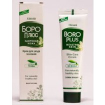 Crema facial Boro Plus con hierbas, 25 ml