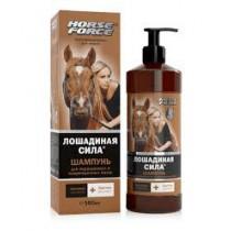 Fuerza de caballo. Champú para cabello teñido y dañado, 500 ml